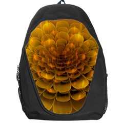 Yellow Flower Backpack Bag