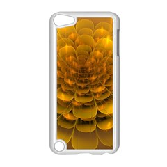 Yellow Flower Apple iPod Touch 5 Case (White)