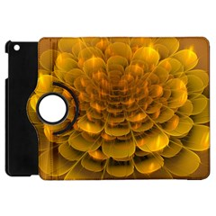 Yellow Flower Apple iPad Mini Flip 360 Case
