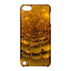 Yellow Flower Apple Ipod Touch 5 Hardshell Case With Stand
