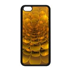 Yellow Flower Apple iPhone 5C Seamless Case (Black)