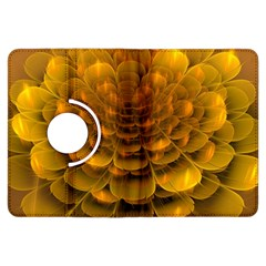 Yellow Flower Kindle Fire HDX Flip 360 Case