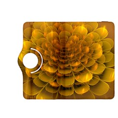 Yellow Flower Kindle Fire Hdx 8 9  Flip 360 Case