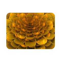 Yellow Flower Double Sided Flano Blanket (Mini)