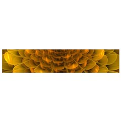 Yellow Flower Flano Scarf (Small)