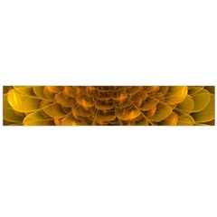 Yellow Flower Flano Scarf (Large)