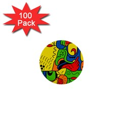 Mexico 1  Mini Buttons (100 pack)