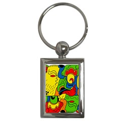 Mexico Key Chains (Rectangle)