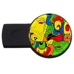 Mexico USB Flash Drive Round (2 GB)