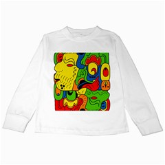 Mexico Kids Long Sleeve T-Shirts