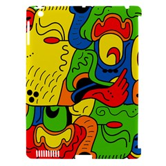 Mexico Apple iPad 3/4 Hardshell Case (Compatible with Smart Cover)
