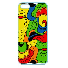 Mexico Apple Seamless iPhone 5 Case (Color)