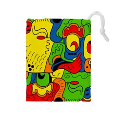 Mexico Drawstring Pouches (Large)