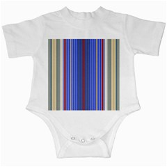 Colorful Stripes Infant Creepers