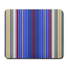 Colorful Stripes Large Mousepads