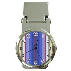Colorful Stripes Money Clip Watches