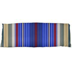 Colorful Stripes Body Pillow Case Dakimakura (Two Sides)