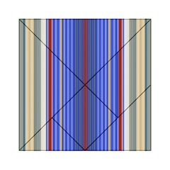 Colorful Stripes Acrylic Tangram Puzzle (6  x 6 )