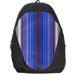 Colorful Stripes Backpack Bag