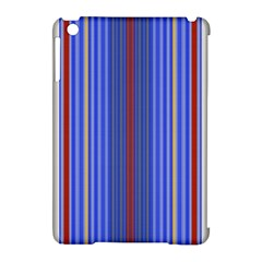 Colorful Stripes Apple iPad Mini Hardshell Case (Compatible with Smart Cover)