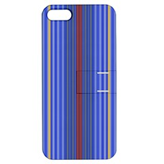 Colorful Stripes Apple iPhone 5 Hardshell Case with Stand