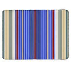 Colorful Stripes Samsung Galaxy Tab 7  P1000 Flip Case