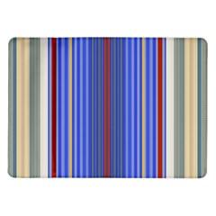 Colorful Stripes Samsung Galaxy Tab 10.1  P7500 Flip Case
