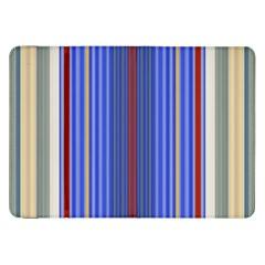 Colorful Stripes Samsung Galaxy Tab 8 9  P7300 Flip Case