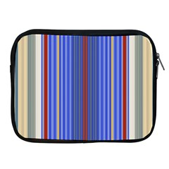 Colorful Stripes Apple iPad 2/3/4 Zipper Cases