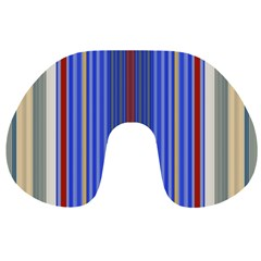 Colorful Stripes Travel Neck Pillows