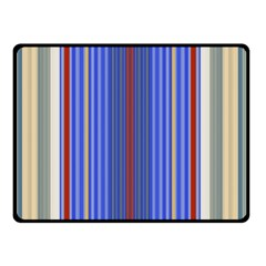 Colorful Stripes Double Sided Fleece Blanket (Small)