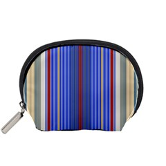 Colorful Stripes Accessory Pouches (Small)