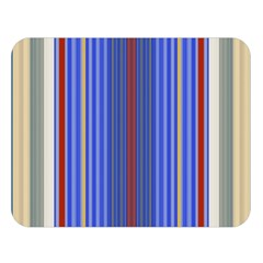 Colorful Stripes Double Sided Flano Blanket (Large)