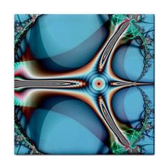 Fractal Beauty Tile Coasters
