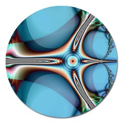 Fractal Beauty Magnet 5  (round)