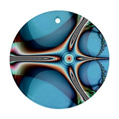 Fractal Beauty Round Ornament (Two Sides)
