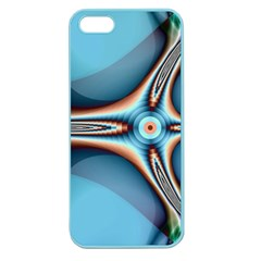 Fractal Beauty Apple Seamless iPhone 5 Case (Color)