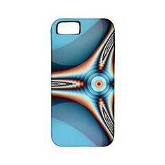 Fractal Beauty Apple iPhone 5 Classic Hardshell Case (PC+Silicone)