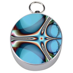 Fractal Beauty Silver Compasses