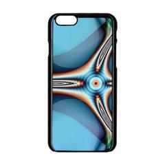 Fractal Beauty Apple iPhone 6/6S Black Enamel Case