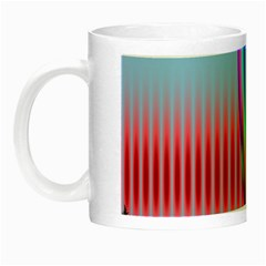 Fractal Tree Night Luminous Mugs