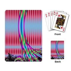 Fractal Tree Playing Card