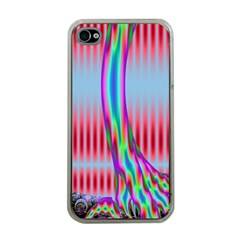 Fractal Tree Apple iPhone 4 Case (Clear)