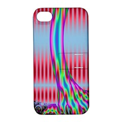 Fractal Tree Apple iPhone 4/4S Hardshell Case with Stand