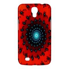 Red Fractal Spiral Samsung Galaxy Mega 6.3  I9200 Hardshell Case