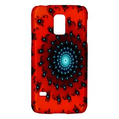 Red Fractal Spiral Galaxy S5 Mini
