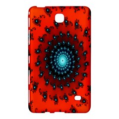 Red Fractal Spiral Samsung Galaxy Tab 4 (8 ) Hardshell Case