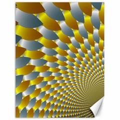 Fractal Spiral Canvas 18  X 24