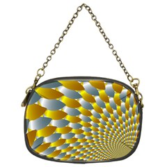 Fractal Spiral Chain Purses (two Sides)