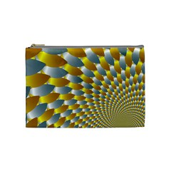 Fractal Spiral Cosmetic Bag (Medium)